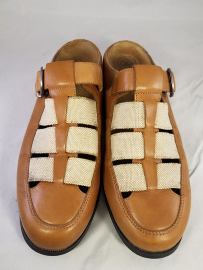 Ariat Rare TAN AND BEIGE Mules Image 1