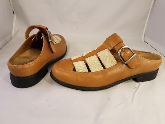 Ariat Rare TAN AND BEIGE Mules Image 3