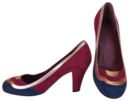 Preload https://img-static.tradesy.com/item/23873783/marc-jacobs-multicolor-color-block-suede-two-tone-leather-classic-italy-pumps-size-eu-37-approx-us-7-0-1-540-540.jpg