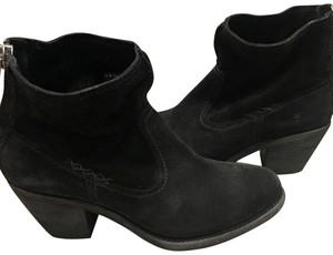 Frye Black Soft Oiled Boots