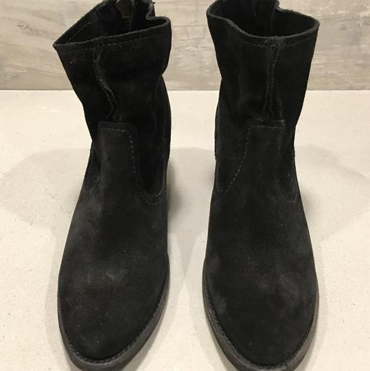 Frye Black Soft Oiled Boots Image 1