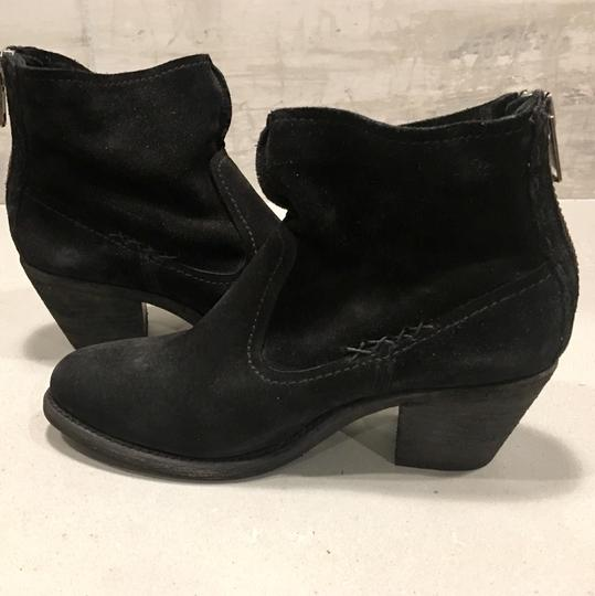 Frye Black Soft Oiled Boots Image 2