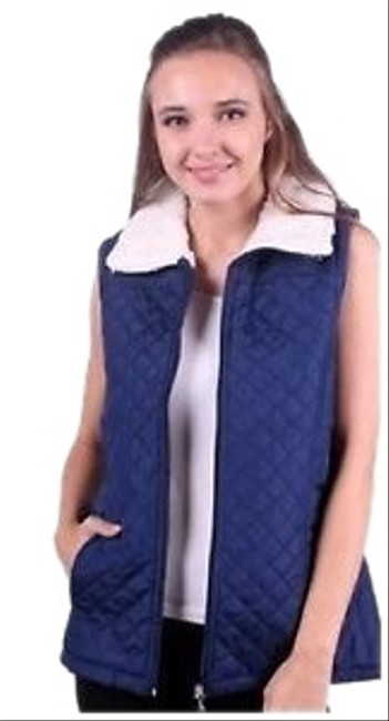 Preload https://img-static.tradesy.com/item/23874139/ambiance-black-or-navy-women-s-puffer-vest-jacket-with-faux-coat-size-12-l-0-3-650-650.jpg