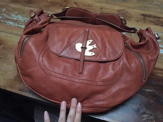 Marc by Marc Jacobs Gold Leather Hobo Bag Image 2