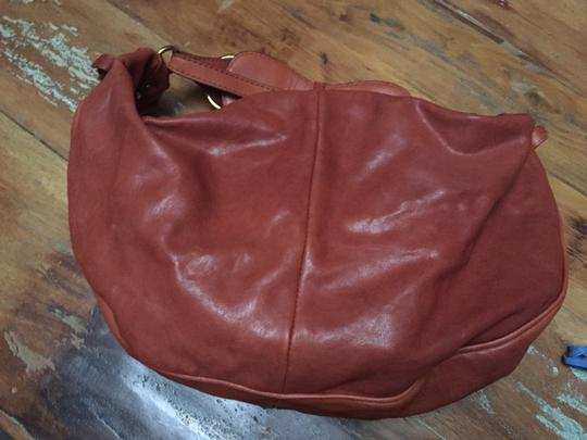 Marc by Marc Jacobs Gold Leather Hobo Bag Image 3
