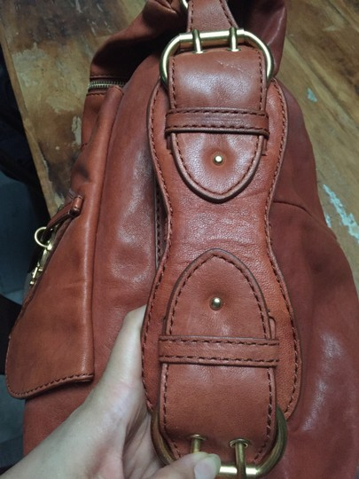 Marc by Marc Jacobs Gold Leather Hobo Bag Image 6