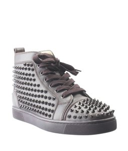 Christian Louboutin Sneakers Leather Brown Boots