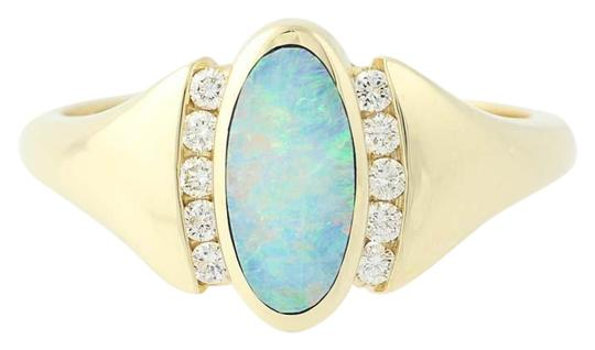 Preload https://img-static.tradesy.com/item/23874263/yellow-gold-new-opal-and-diamond-14k-size-6-34-mq4158-ring-0-1-540-540.jpg