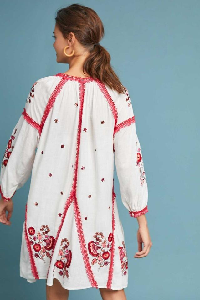 b8d7855fa9fc Anthropologie Multicolor Hadley Embroidered Tunic Xsp By Ranna Gill ...