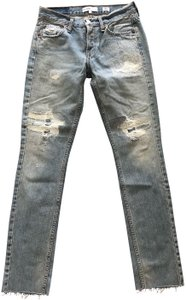 RE/DONE Skinny Jeans-Distressed