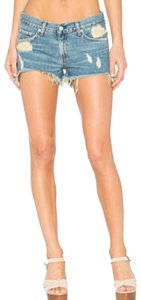 Rag & Bone Cut Off Shorts Blue
