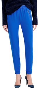 J.Crew Cuffed Ankle Size 2 Or Small Relaxed Pants Blue