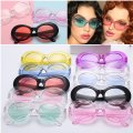 Unbranded ** Clear/Blue Fashion Glitter Lens Sunglasses Unbranded ** Clear/Blue Fashion Glitter Lens Sunglasses Image 5