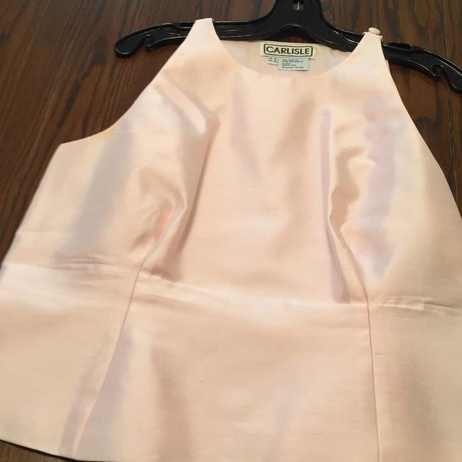 Carlisle Black and Baby Pink Skirt Suit Size 14 (L) Carlisle Black and Baby Pink Skirt Suit Size 14 (L) Image 5