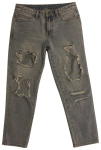 Ksubi Relaxed Fit Jeans-Distressed