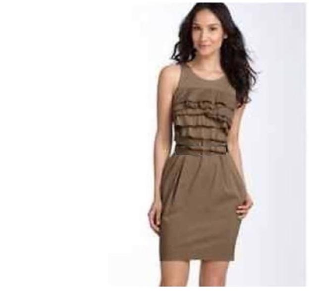 Item - Brown Cahya Work Formal Mid-length Casual Maxi Dress Size 4 (S)