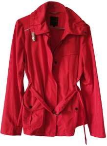 The Limited Belted Red Jacket