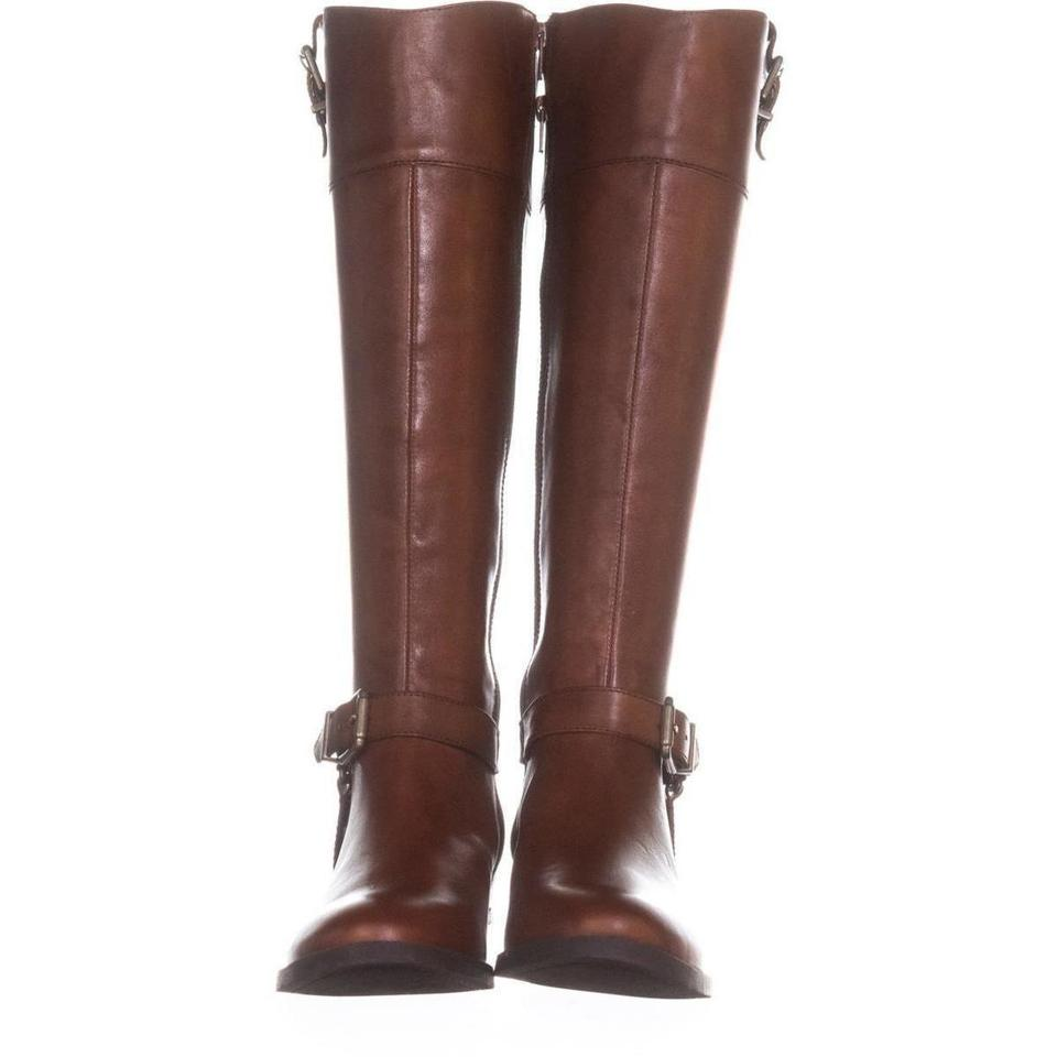 Brown Brown Brown Fedee Harness Strap Riding 302 Cognac Boots/Booties 1344d1