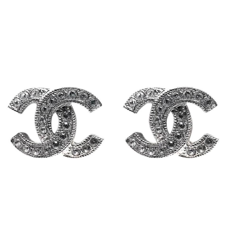 c1776d26e Chanel Small CC Classic Coco Swarovski with Box Studs Image 0 ...