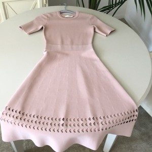 A.L.C. Light Pink Heavy Material W Casual Bridesmaid/Mob Dress Size 2 (XS)