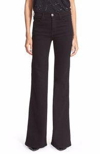 Current/Elliott Denim Flare Leg Jeans-Dark Rinse