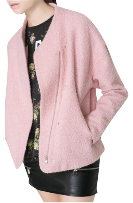 Item - Pink Oversize Coat Jacket Size 8 (M)