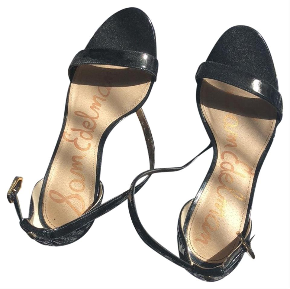 b35713274 Sam Edelman Black Patti Sandals Size US 6.5 Regular (M