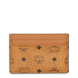 MCM Original Visetos Mini Cardholder case
