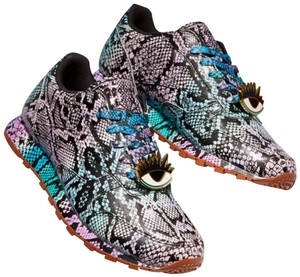 Melody Ehsani x Reebok Python Leather Exclusive Limited Edition Collaboration Pink/Purple/Teal/Blue/White Athletic