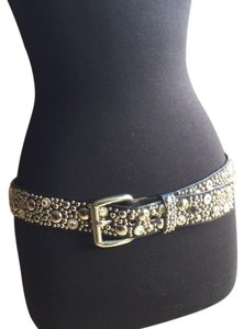 Streets Ahead Streets Ahead black leather with Swarovski crystals and studs