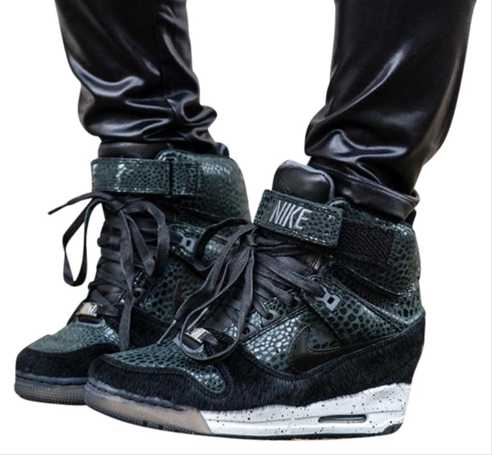 Nike Black Air Revolution Ski Hi Nyc Wedges Size US 6.5 Regular (M ... eb661c0c0