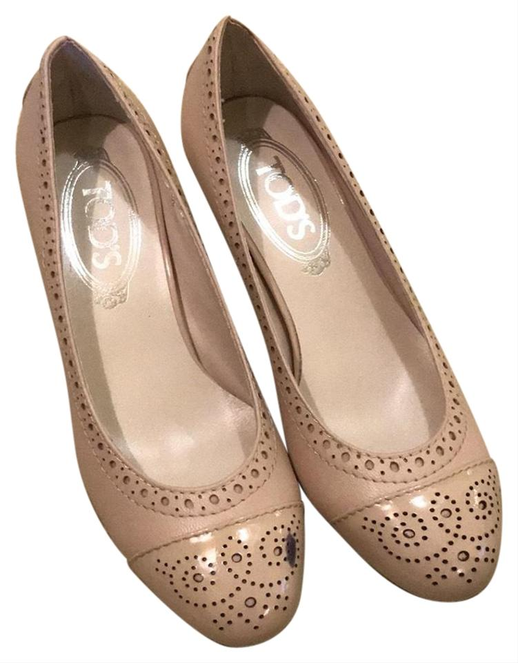 Women's Nude Tod's Nude Women's Pumps Suitable for color aee0f6