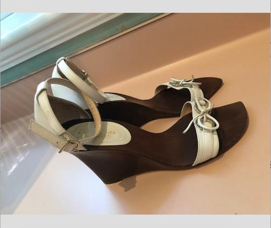 Kate Spade Wood Boho Chic Wedges Image 3