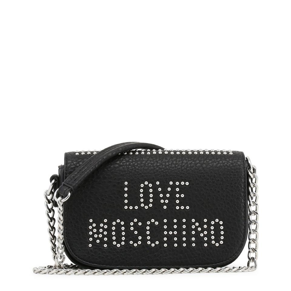 Black Love Body Leather Moschino Bag Synthetic Cross 55qOTR