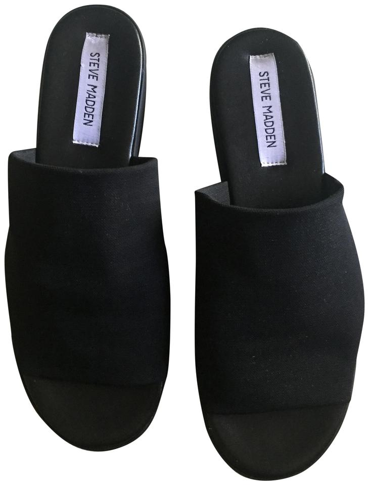 1183ac1a812 Steven by Steve Madden Black Sandals Size US 9 Regular (M