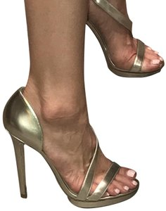 Brian Atwood Sandals Stilettos Silver Pumps