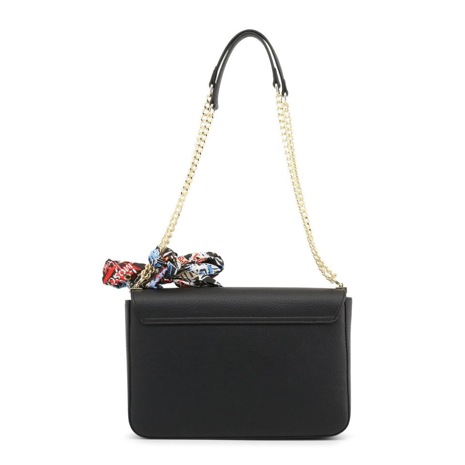 Shoulder Bag Synthetic Black Love Moschino Leather wxIqwOT