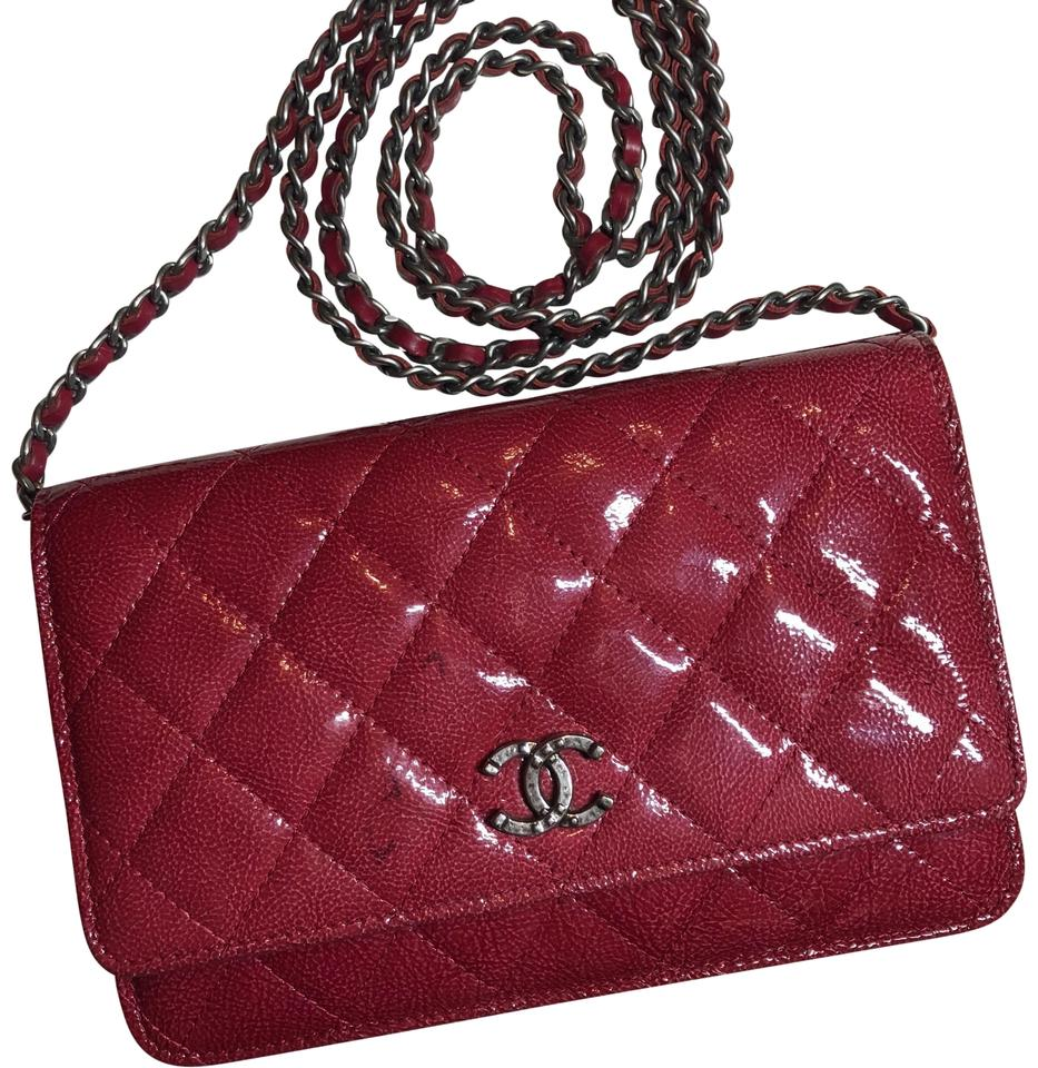 d2b2deb07193 Chanel Wallet on Chain Paris Dallas Limited Edition Woc Patent Leather  Cross Body Bag