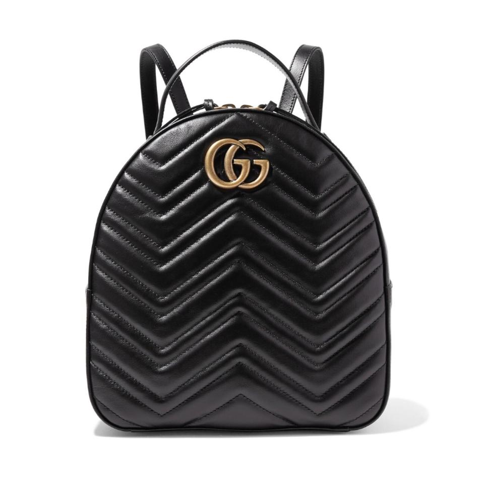 ae1c3f019 Gucci Marmont Quilted Leather Backpack - Tradesy