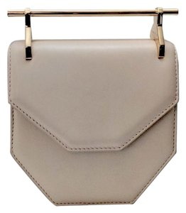 M2Malletier Leather Structured Mini Simple Geometric Cross Body Bag
