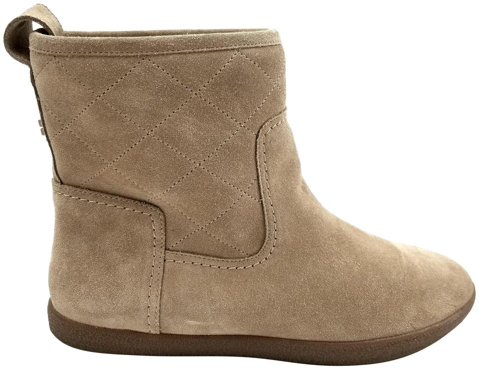 dcc9c20053ca9 Tory Burch Light Camel Alana Suede Ankle Boots Booties Size US 11 ...