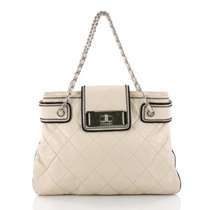 Chanel Leather Tote in bone