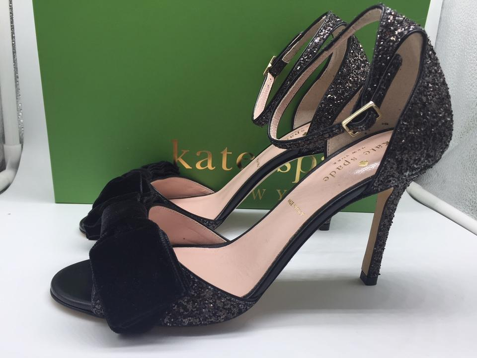 Irwin Glitter Kate Formal Spade Black Shoes wqatE6