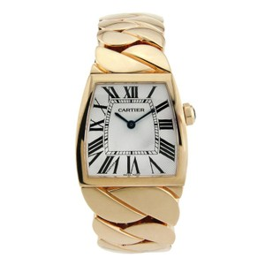 Cartier Cartier La Dona 18K Rose Gold with Silver Dial 28mm
