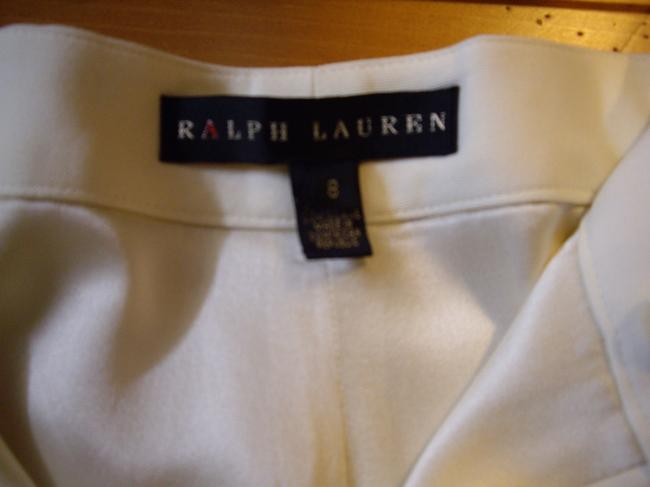 Ralph Lauren Fully Lined Pockets Trouser Pants Cream
