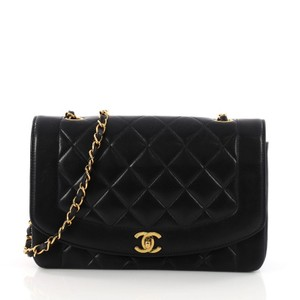 Chanel Quilted Lambskin Classic Flap Cross Body Bag