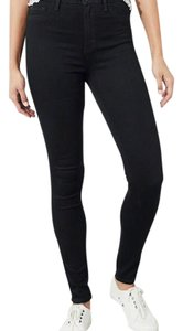 2e5c9167f8f97 Hollister Black Dark Rinse Classic Stretch High-rise Super Skinny Jeans