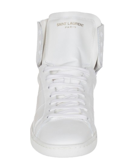 Saint Laurent white Athletic