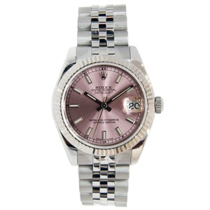 Rolex Rolex Datejust Mid-Size Stainless Steel with Pink Dial 31mm