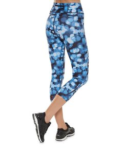 Sweaty Betty Blue Tranquil Lights Zero Gravity Crops